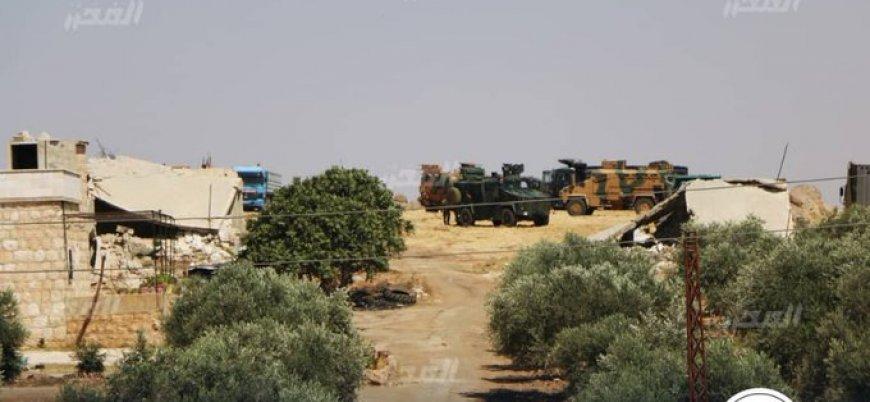 'Türk Silahlı Kuvvetleri İdlib'in güneyinde yeni gözlem noktası inşa ediyor'
