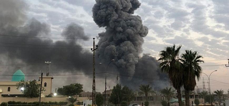 """""""Irak'ta İran destekli Haşdi Şabi'nin silah deposu İHA'larca vuruldu"""""""
