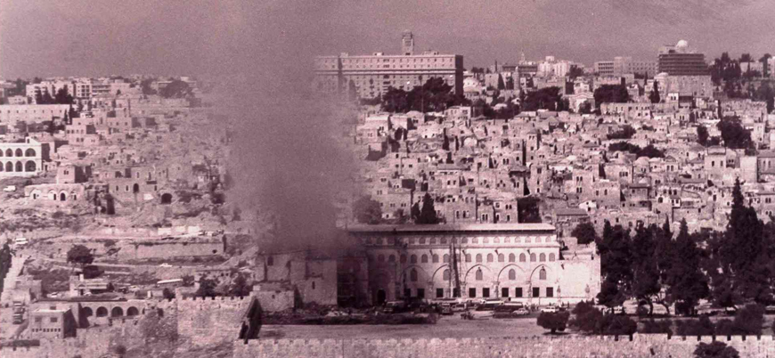Mescid-i Aksa'nın kundaklanışının 51'inci yıl dönümü