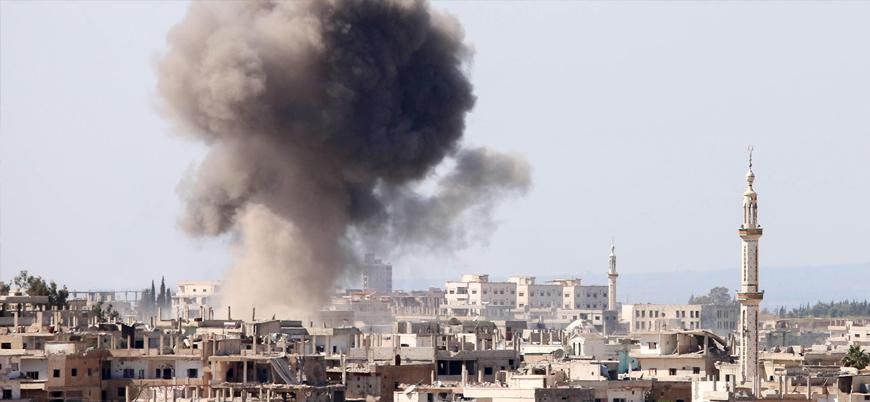 Rusya İdlib'de hastane ve cami bombaladı