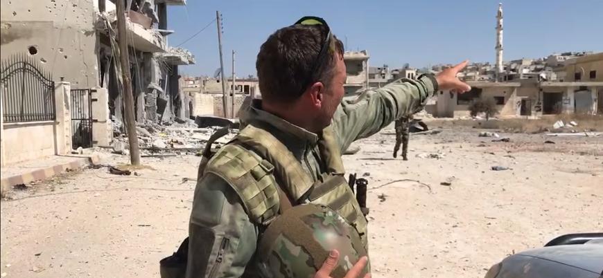 Ruslar Han Şeyhun'da: 'İdlib'e ilerlemeye devam edeceğiz'
