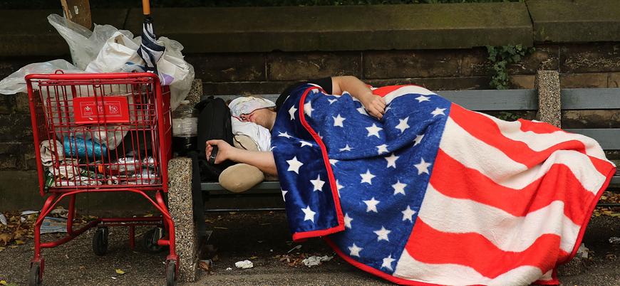 ABD'de evsizlere kaldırımlar yasak