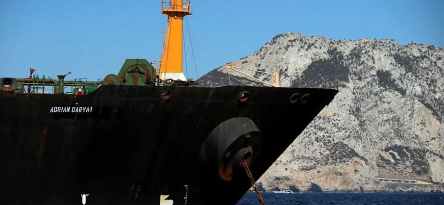ABD'nin yardım edene yaptırım uygularız dediği petrol tankeri Mersin'e yola çıktı