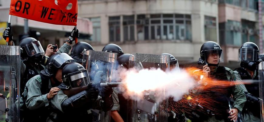 Hong Kong'da gösteriler 12'nci haftasında
