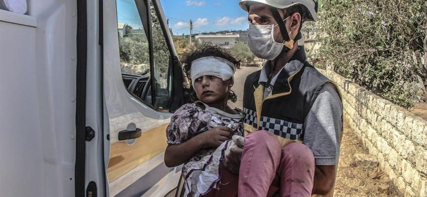 Rusya ve Esed rejimi İdlib'de sivilleri vuruyor: 11 ölü