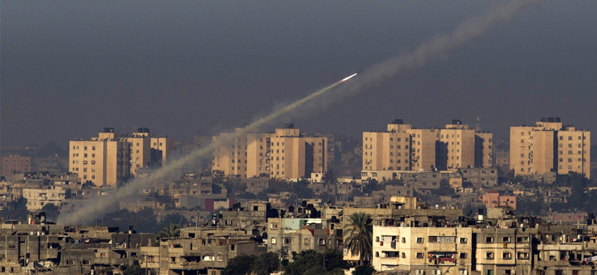 Bölgede gerginlik sürüyor: Gazze'den İsrail'e roket atıldı