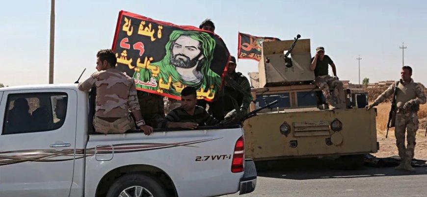 """""""İsrail'in Irak'taki Haşdi Şabi üslerine saldırıları savaş sebebi"""""""