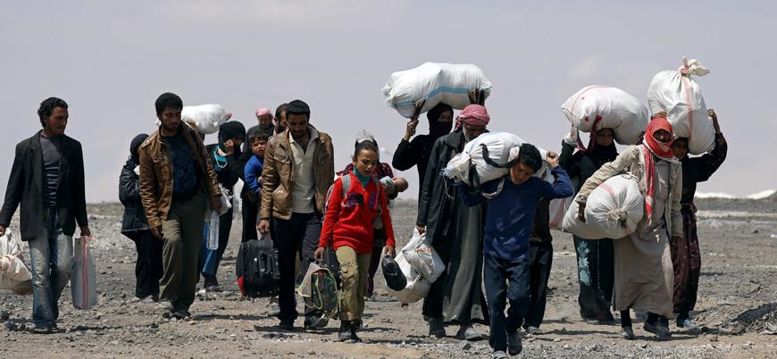 Rusya ve Esed rejimi saldırıları nedeniyle Türkiye sınırına göç eden sivillerin sayısı 1 milyonu aştı