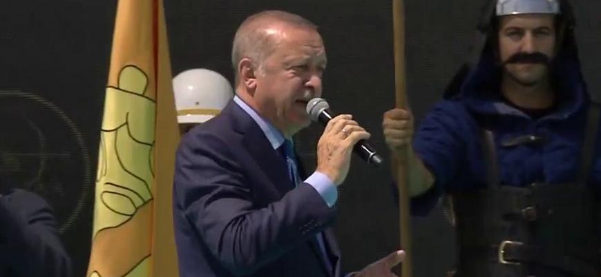 Erdoğan'dan Fırat'ın doğusu mesajı: Yakında kara birliklerimiz de bölgeye giriş yapacak