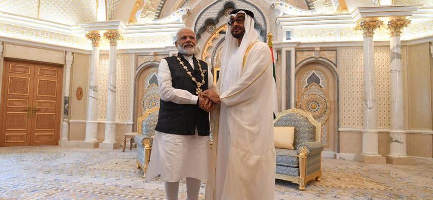 Hindistan Başbakanı Modi'ye ödül veren BAE'ye Keşmir özgürlük hareketinden tepki