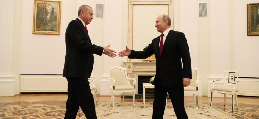 Putin Erdoğan'ı Rusya'ya davet etti
