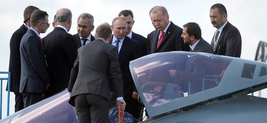 F-35'in alternatifi mi olacak?: Erdoğan Rus savaş uçağı Su-57'yi inceledi
