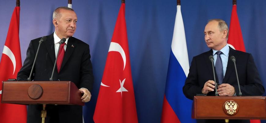 Putin: Türkiye ile teröristlerin yok edilmesi için anlaştık