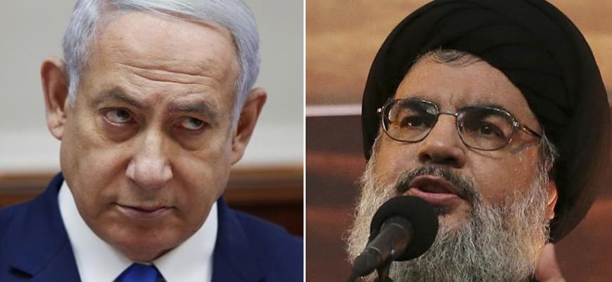 Netanyahu'dan Nasrallah'a: Sakin ol