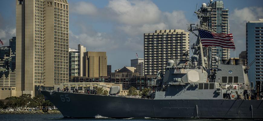 Çin, ABD savaş gemisinin limana yanaşmasına izin vermedi
