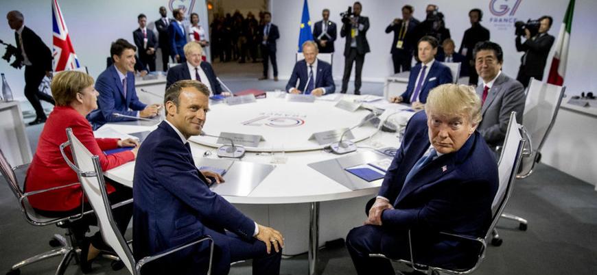 'Ortak tutum alma platformu' G-7 zirvesi işlevini yitirdi
