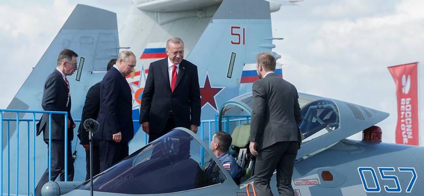 """""""Türkiye ve Rusya savaş uçağı alımı için görüşmeler yapıyor"""""""