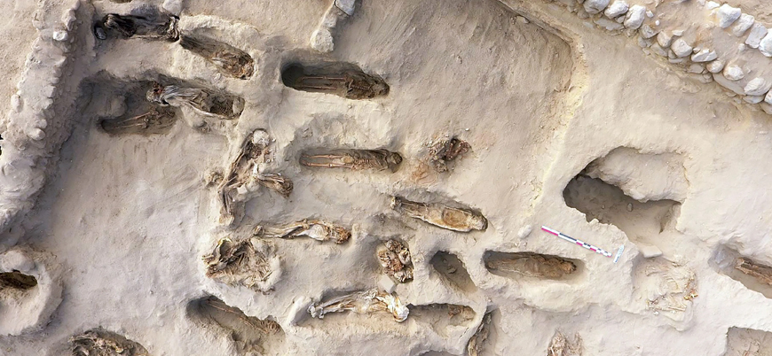 Peru'da 'tanrılara kurban edilen' 227 çocuğun mezarı bulundu