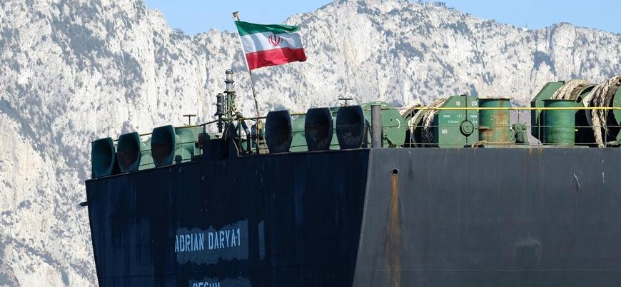 İran'ın Akdeniz'deki tankeri Lübnan'a gidiyor