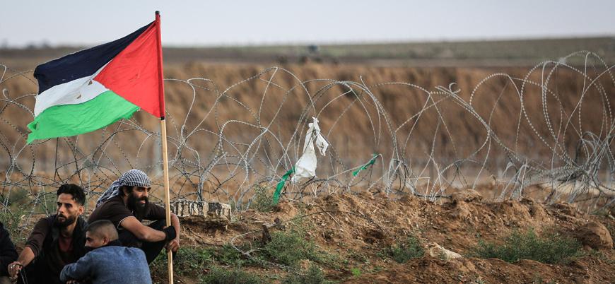 İsrail askerleri Gazze'de protestoculara saldırdı: Bir kişi yaşamını yitirdi
