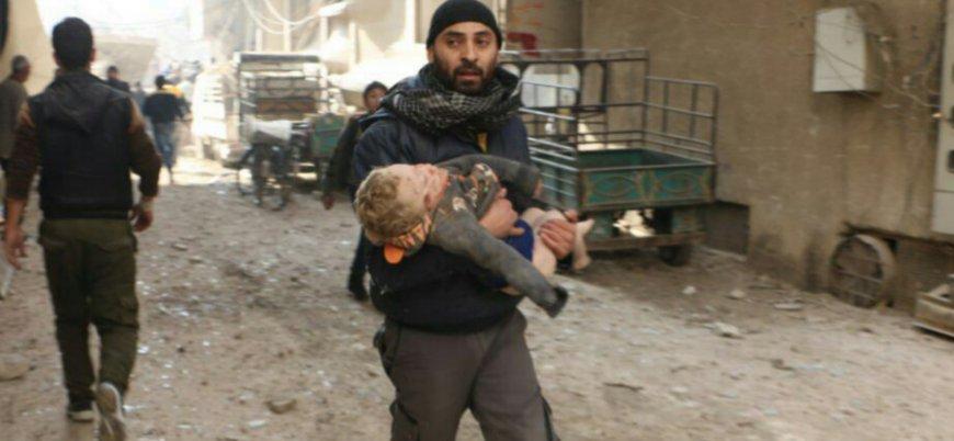 Suriye'de binlerce sivili öldüren Rusya: ABD bize haber vermeden İdlib'i vurdu