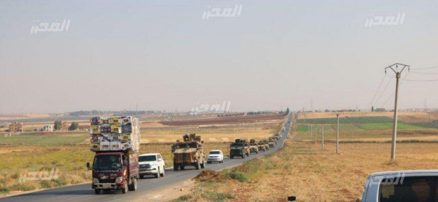 Yeni bir TSK konvoyu İdlib'e giriş yaptı