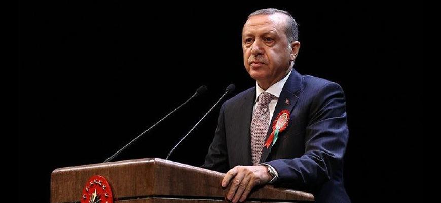 Erdoğan: Kendimiz ve tüm insanlık için daima adaletin peşinde koşmalıyız