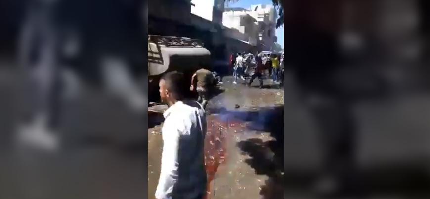 Suriye'nin kuzeyinde çifte bombalı saldırı