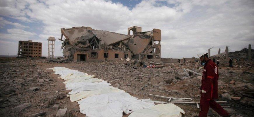 Suudi Arabistan'ın Yemen'de düzenlediği saldırıda ölü sayısı 123'e yükseldi
