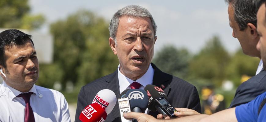 Savunma Bakanı Akar: Suriye'de kendi göbeğimizi kesebilecek durumdayız