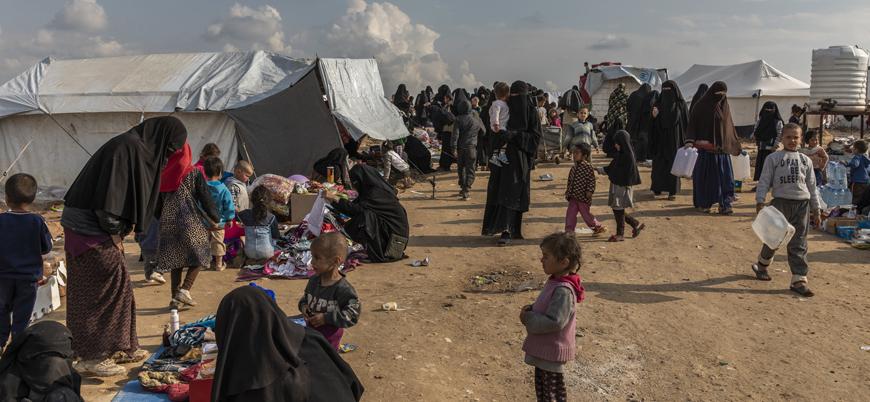 El Hol kampında kadın ve çocuklar koronavirüs tehdidi altında