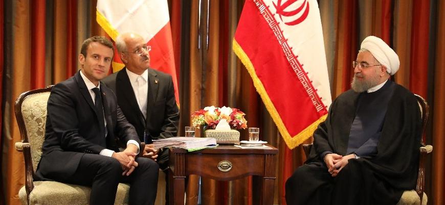 Macron'dan İran'a nükleer anlaşmaya bağlı kalması için 15 milyar dolarlık vaat