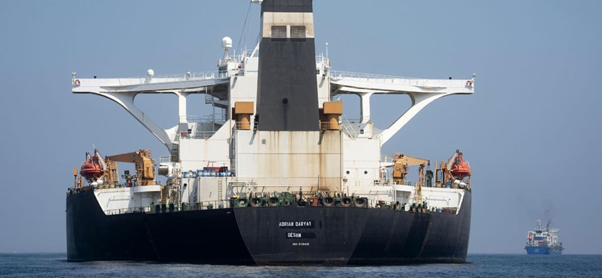 İran'ın Akdeniz'deki tankeri takip vericilerini kapattı