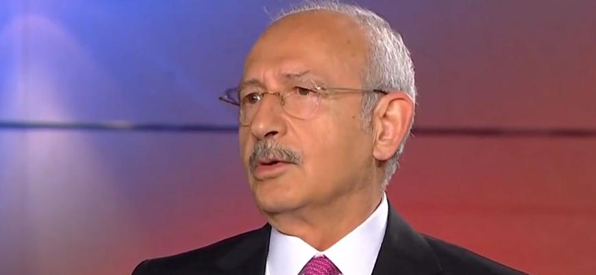 CHP lideri Kılıçdaroğlu: Türkiye Suriye'de terör örgütlerine destek veriyor