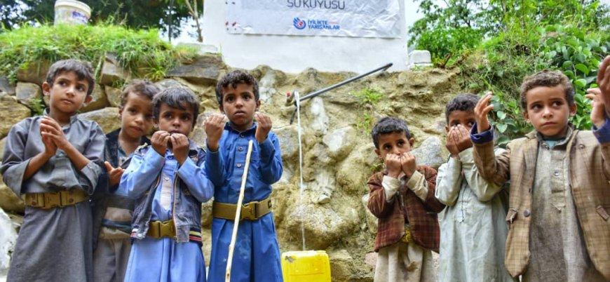 İyilikte Yarışanlar Yemen'e can suyu oldu