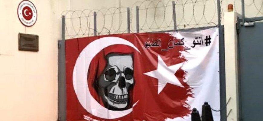 Lübnan'da Türk Büyükelçiliği'ne provokatif saldırı