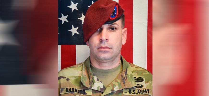 Afganistan'ın başkenti Kabil'de öldürülen ABD askerinin kimliği belli oldu