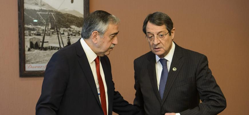 Kıbrıs'ta liderler Birleşmiş Milletler ile bir araya geldi