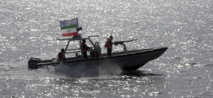 İran Hürmüz Boğazı'nda yabancı bir gemiye el koydu