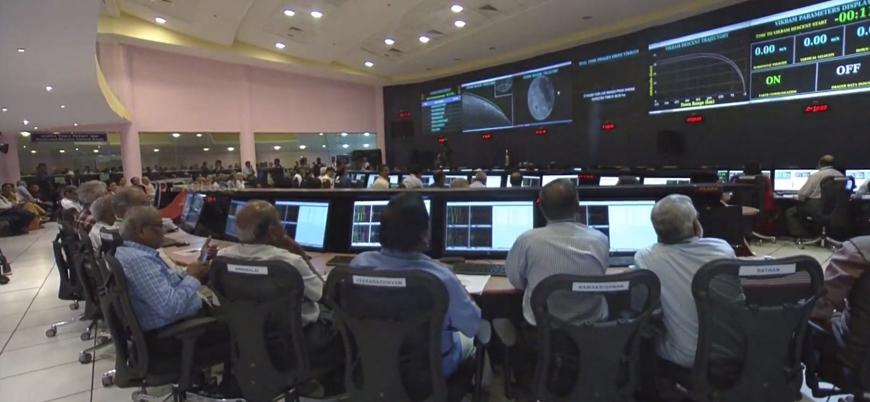 Hindistan'ın 150 milyon dolarlık Ay misyonu başarısız oldu
