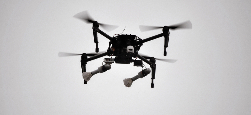 Gazze'den kalkan drone İsrail askerlerini bombaladı