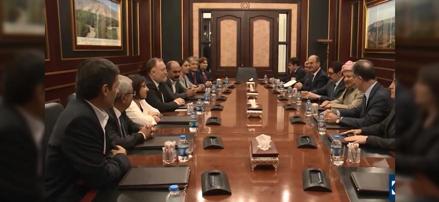 HDP heyeti Mesut Barzani ile görüştü