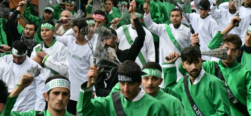 İstanbul'da binlerce kişi Şii Kerbela ritüeli için toplandı