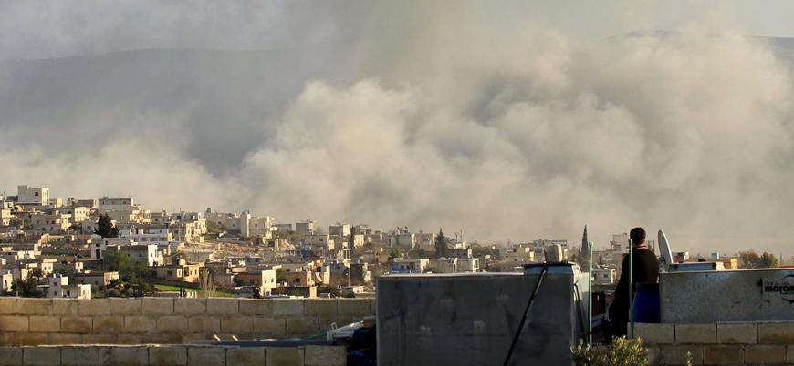 Ateşkes ilan edilmişti: İdlib'e hava saldırısı