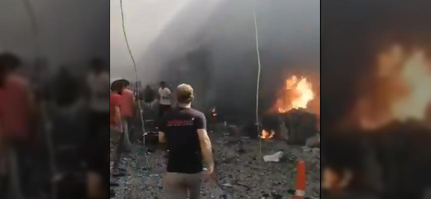Afrin'de bombalı saldırı: Sivillerden yaralananlar var