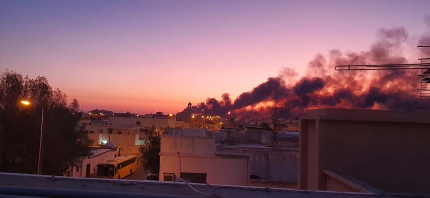 Husilerin vurduğu Suudi petrol tesislerinde yangın