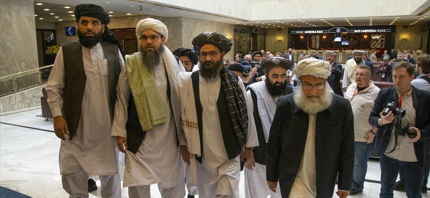 Taliban siyasi heyeti Rusya'da