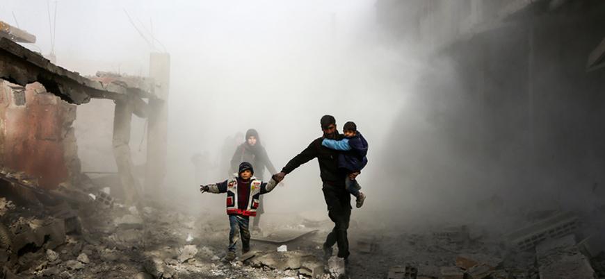 Rusya ve Esed rejiminden İdlib'e saldırı: 6 sivil öldü