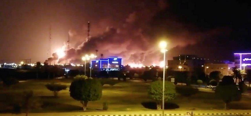 Suudi Arabistan saldırılar nedeniyle petrol üretimini durdurdu