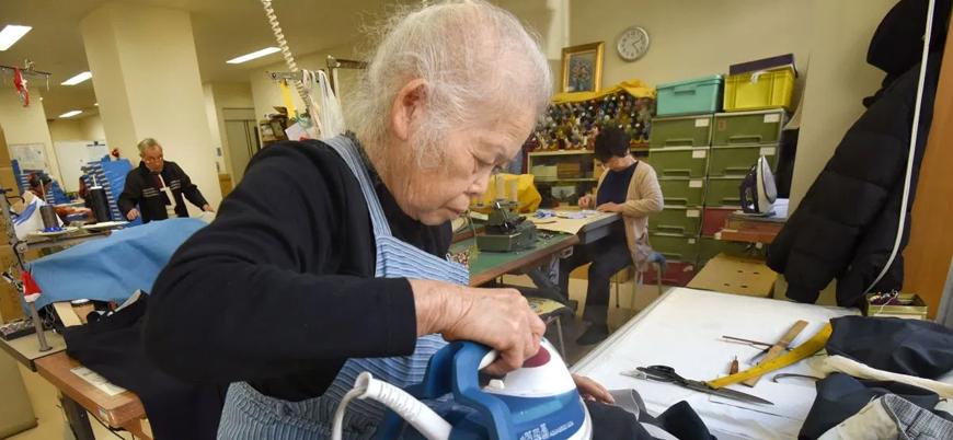 Japonya'da emekliler geçim sıkıntısı nedeniyle çalışmak zorunda
